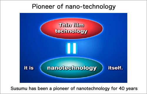 Pioneer of nano-technology